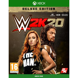 Coperta WWE 2K20 DELUXE EDITION - XBOX ONE