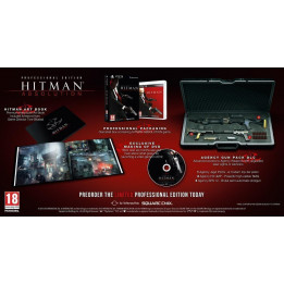 Coperta HITMAN ABSOLUTION PROFESSIONAL EDITION - XBOX360