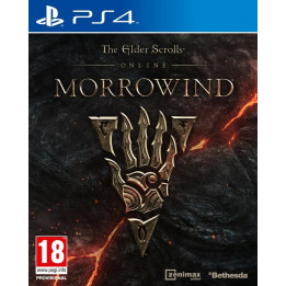 Coperta THE ELDER SCROLLS ONLINE MORROWIND - PS4
