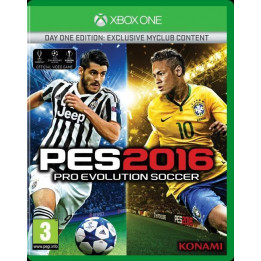 Coperta PRO EVOLUTION SOCCER 2016 D1 EDITION - XBOX ONE