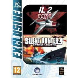 Coperta IL-2 STURMOVIK 1946 & SILENT HUNTER 4 EXCLUSIVE - PC