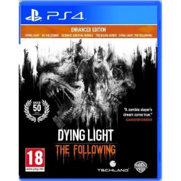 Coperta DYING LIGHT THE FOLLOWING ENHANCED EDITION - PS4