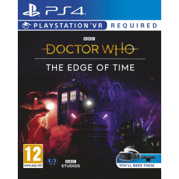 Coperta DOCTOR WHO THE EDGE OF TIME (VR) - PS4