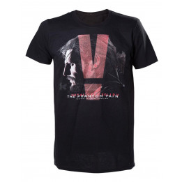 Coperta METAL GEAR SOLID 5 THE PHANTOM PAIN BLACK TSHIRT L