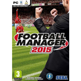 Coperta FOOTBALL MANAGER 2015 - PC
