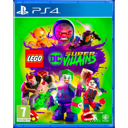 Coperta LEGO DC SUPERVILLAINS - PS4