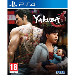 Coperta YAKUZA 6 THE SONG OF LIFE - PS4