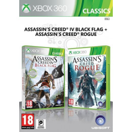 Coperta COMPILATION ASSASSINS CREED 4 BLACK FLAG & ASSASSINS CREED ROGUE - XBOX360