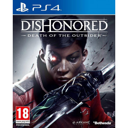 Coperta DISHONORED DEATH OF THE OUTSIDER - PS4