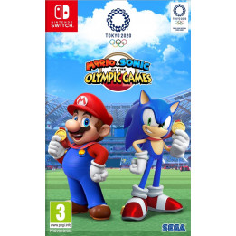 Coperta MARIO & SONIC AT THE OLYMPIC GAMES TOKYO 2020 - SW