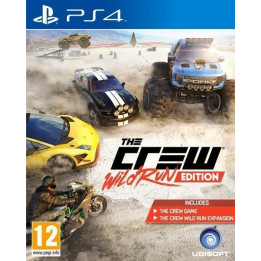 Coperta THE CREW WILD RUN EDITION - PS4