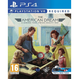 Coperta AMERICAN DREAM (VR) - PS4
