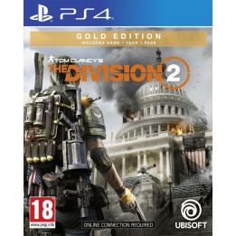 Coperta THE DIVISION 2 GOLD EDITION - PS4