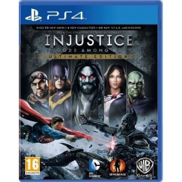 Coperta INJUSTICE GODS AMONG US ULTIMATE EDITION - PS4