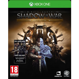 Coperta MIDDLE EARTH SHADOW OF WAR GOLD EDITION - XBOX ONE