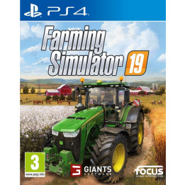 Coperta FARMING SIMULATOR 19 - PS4