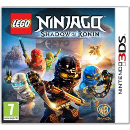 Coperta LEGO NINJAGO SHADOW OF RONIN - 3DS