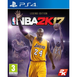Coperta NBA 2K17 LEGEND EDITION - PS4