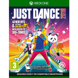 Coperta JUST DANCE 2018 - XBOX ONE