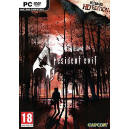 Coperta RESIDENT EVIL 4 ULTIMATE HD EDITION - PC