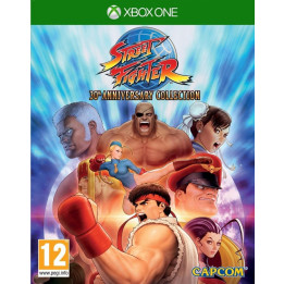 Coperta STREET FIGHTER 30 ANNIVERSARY COLLECTION - XBOX ONE