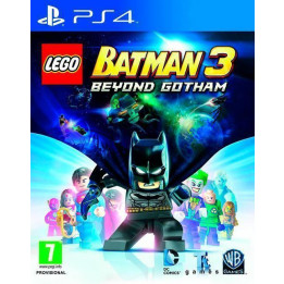 Coperta LEGO BATMAN 3 BEYOND GOTHAM - PS4