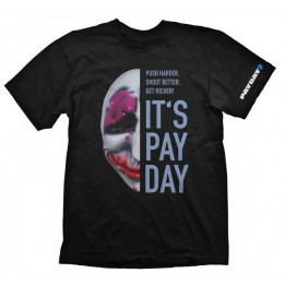 Coperta PAYDAY 2 HOUSTON MASK TSHIRT L