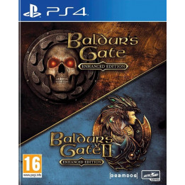 Coperta BALDURS GATE ENHANCED & BALDURS GATE 2 - PS4