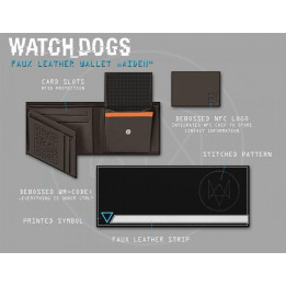 Coperta WATCH DOGS HACKER NFC WALLET