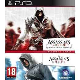 Coperta COMPILATION ASSASSINS CREED & ASSASSINS CREED 2 - PS3
