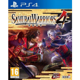 Coperta SAMURAI WARRIORS 4 - PS4