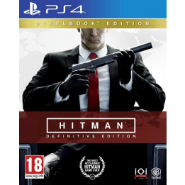 Coperta HITMAN DEFINITIVE STEELBOOK EDITION - PS4