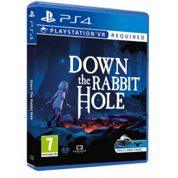 Coperta DOWN THE RABBIT HOLE (VR) - PS4