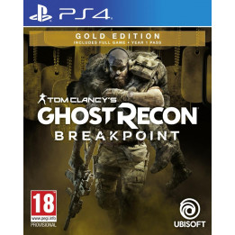 Coperta GHOST RECON BREAKPOINT GOLD EDITION - PS4