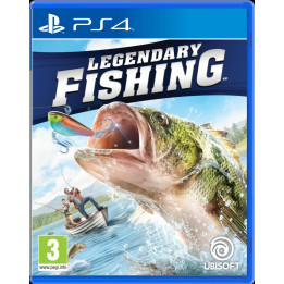 Coperta LEGENDARY FISHING - PS4