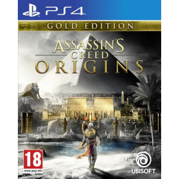 Coperta ASSASSINS CREED ORIGINS GOLD EDITION - PS4