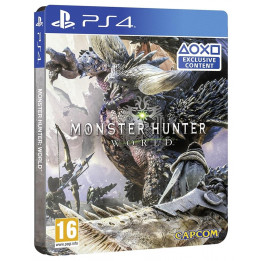 Coperta MONSTER HUNTER WORLD STEELBOOK EDITION - PS4