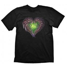 Coperta STARCRAFT 2 ZERG HEART TSHIRT L
