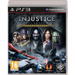 Coperta INJUSTICE GODS AMONG US ULTIMATE EDITION - PS3