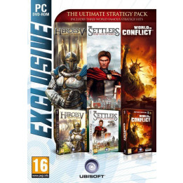 Coperta SETTLERS 5 & HEROES 5 & WORLD IN CONFLICT - PC