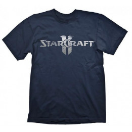 Coperta STARCRAFT 2 STARCRAFT LOGO SILVER TSHIRT XL