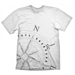Coperta UNCHARTED 4 COMPASS TSHIRT L