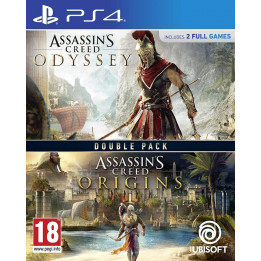 Coperta COMPILATION ASSASSINS CREED ODYSSEY & ASSASSINS CREED ORIGINS - PS4