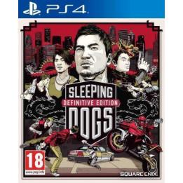 Coperta SLEEPING DOGS DEFINITIVE EDITION - PS4