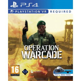 Coperta OPERATION WARCADE (VR) - PS4