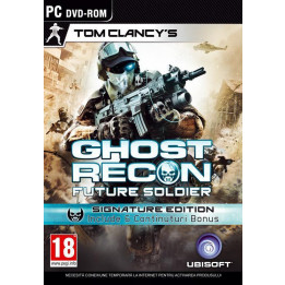 Coperta GHOST RECON FUTURE SOLDIER SIGNATURE EDITION - PC