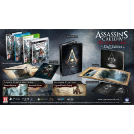 Coperta ASSASSINS CREED 4 BLACK FLAG SKULL EDITION - WII U