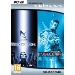 Coperta DEUS EX & DEUS EX INVISIBLE WAR PACK - PC