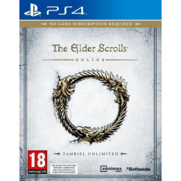 Coperta THE ELDER SCROLLS ONLINE TAMRIEL UNLIMITED - PS4