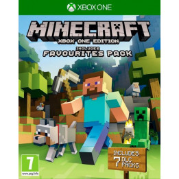 Coperta MINECRAFT XBOX ONE EDITION FAVORITES PACK - XBOX ONE